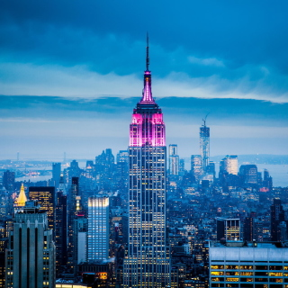 Empire State Building in New York sfondi gratuiti per iPad