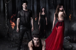 The Vampire Diaries with Nina Dobrev sfondi gratuiti per Android 2560x1600