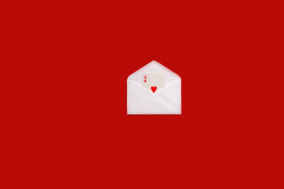 Card In Envelop Wallpaper for Android, iPhone and iPad