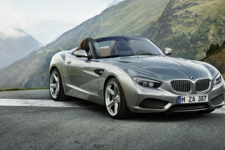 BMW Zagato Roadster Background for Android, iPhone and iPad
