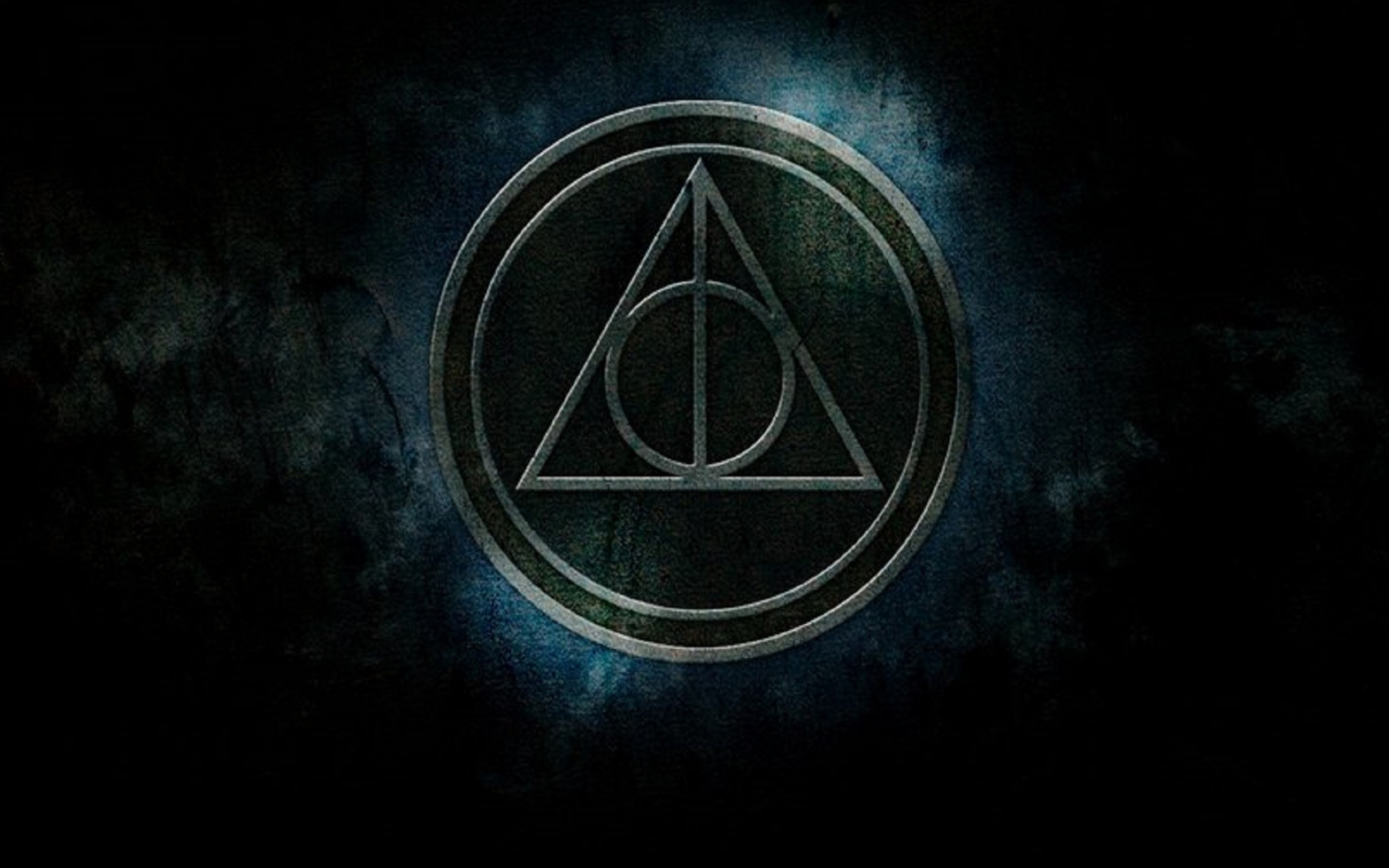 Screenshot №1 pro téma Deathly Hallows 1680x1050