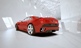 Ferrari California Picture for Android, iPhone and iPad