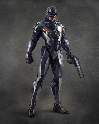 Robocop - Robot Cop Wallpaper for Nokia C2-05