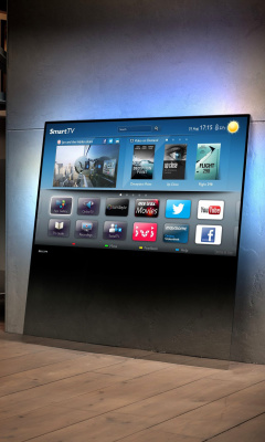 Screenshot №1 pro téma Smart TV with Internet 240x400