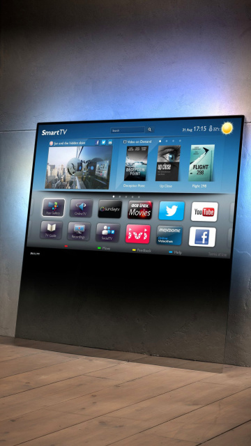 Screenshot №1 pro téma Smart TV with Internet 360x640