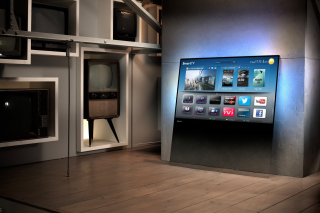 Smart TV with Internet Picture for Android, iPhone and iPad