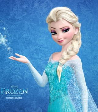 Snow Queen Elsa In Frozen Wallpaper for Nokia C1-00