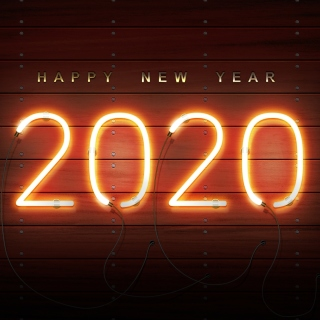Happy New Year 2020 Wishes sfondi gratuiti per iPad 3