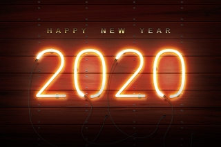 Kostenloses Happy New Year 2020 Wishes Wallpaper für HTC Wildfire