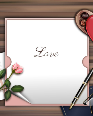 Free Love Letter Picture for iPhone 6 Plus