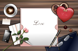 Love Letter Background for Samsung Galaxy S6
