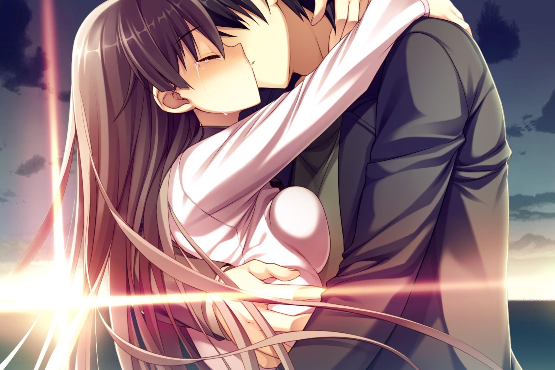 День, картинки аниме любовь и поцелуи