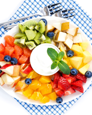 Free Fruit Platter Picture for 240x320