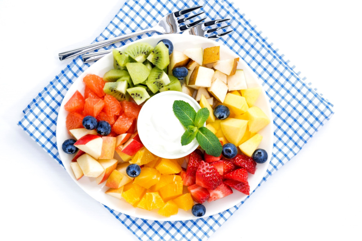 Fruit Platter wallpaper