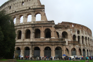 Colosseum - Rome, Italy Background for Android, iPhone and iPad