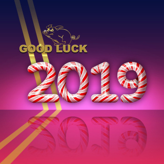 Good Luck in New Year 2019 - Fondos de pantalla gratis para 1024x1024