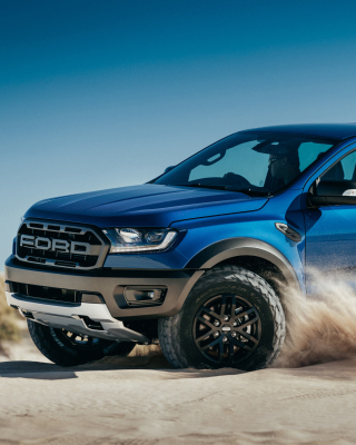 Ford Ranger Raptor 2019 Background for iPhone 6 Plus
