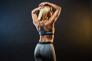Free Fitness Goddess Picture for 220x176