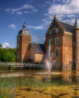 Netherlands Kasteel Ruurlo Wallpaper for iPhone 5S