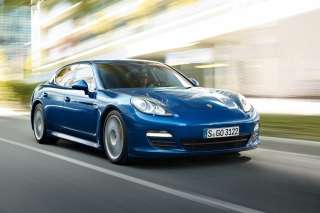 Porsche Panamera S Hybrid Wallpaper for Android, iPhone and iPad