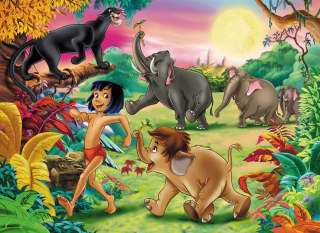 Jungle Book papel de parede para celular para Samsung Galaxy Tab 4G LTE