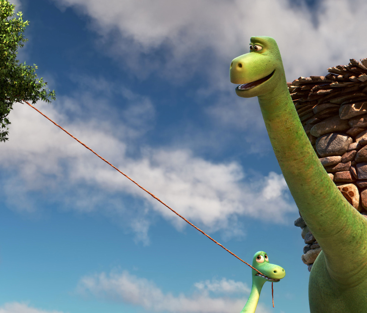 Screenshot №1 pro téma The Good Dinosaur 1200x1024
