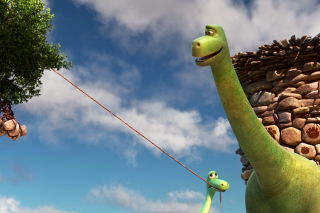 Free The Good Dinosaur Picture for Android, iPhone and iPad