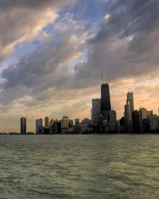 Chicago Skyline Picture for iPhone 4S