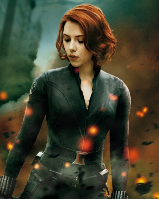The Avengers - Black Widow Picture for Nokia Asha 310