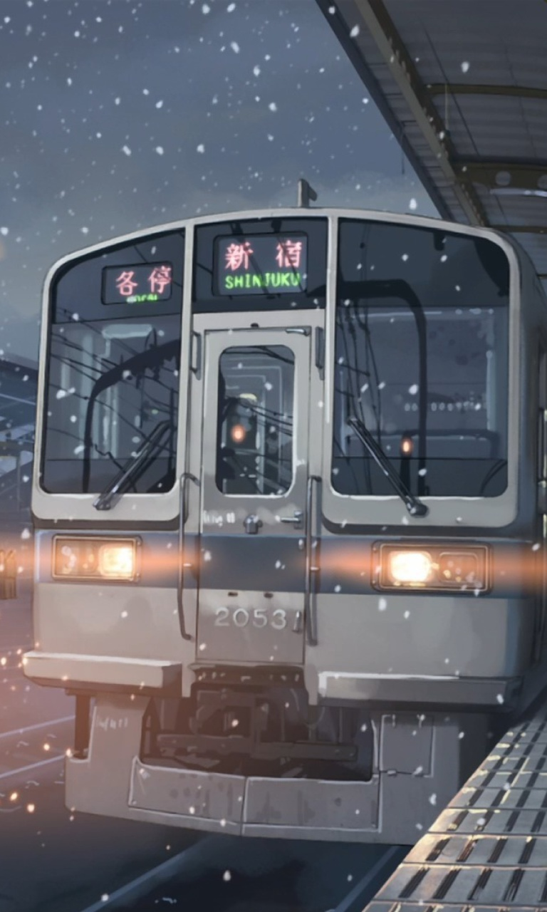 Screenshot №1 pro téma 5 Centimeters Per Second 768x1280