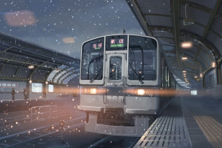 5 Centimeters Per Second Wallpaper for Android, iPhone and iPad