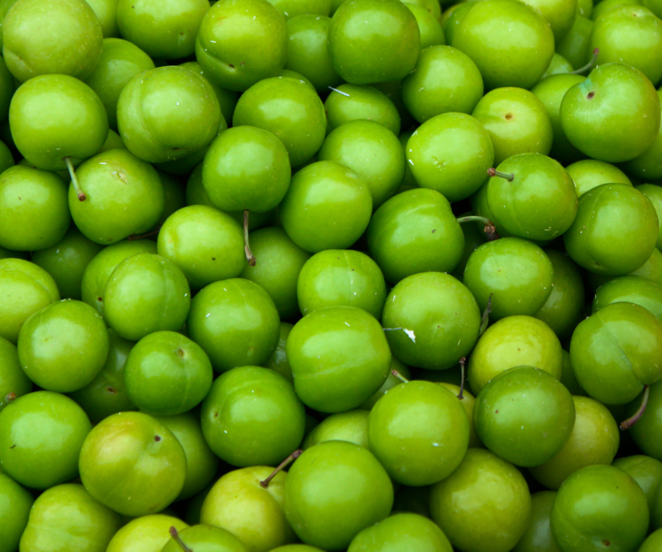 Screenshot №1 pro téma Green Apples - Granny Smith 960x800