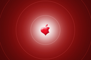 Red Apple Wallpaper for Android, iPhone and iPad