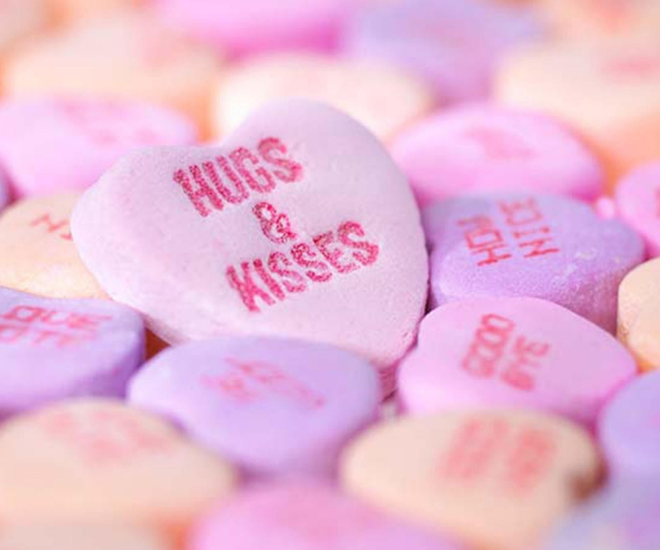 Love Wallpapers For Nokia Xl : Valentine candies Wallpaper for Nokia XL