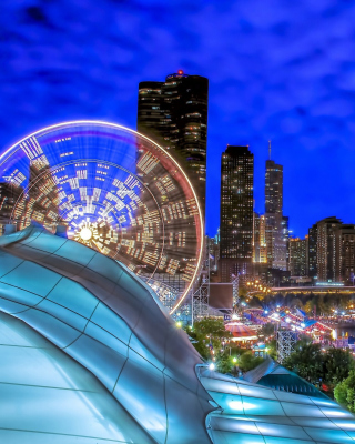 Free Chicago, Illinois, Navy Pier Picture for iPhone 5