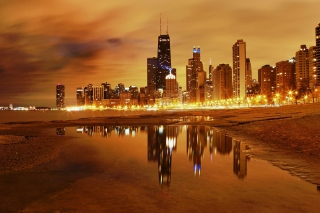 Chicago Nights - Fondos de pantalla gratis para 2560x1600
