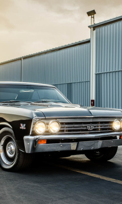 1967 Chevrolet Chevelle SS wallpaper 240x400