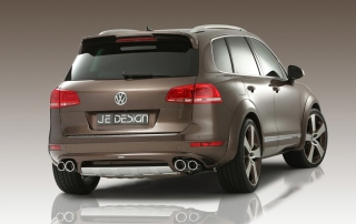 Vw Touareg 2011 Background for Android, iPhone and iPad