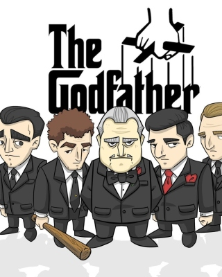 The Godfather Crime Film Wallpaper for Nokia Asha 306