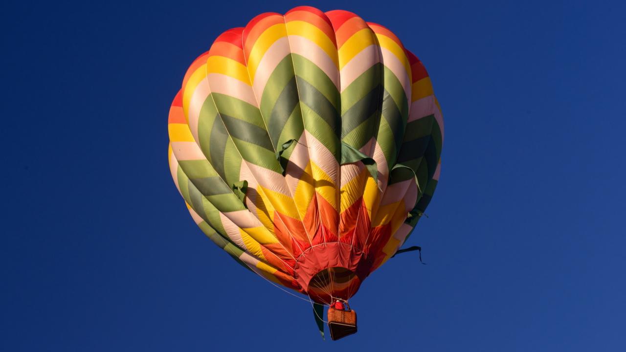 Big Colorful Air Balloon