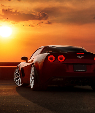 Chevrolet Corvette Wallpaper for Nokia C6