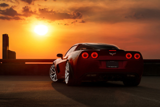 Chevrolet Corvette Background for Android, iPhone and iPad