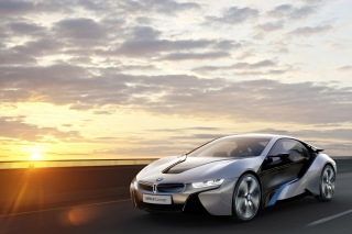 BMW i8 Concept Background for Android, iPhone and iPad