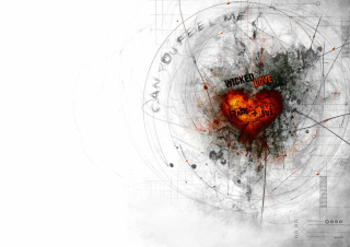 Heart Abstract sfondi gratuiti per Samsung Galaxy Nexus