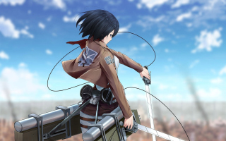 Mikasa Ackerman - Attack on Titan 1 Wallpaper for Android, iPhone and iPad