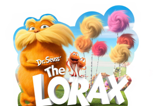 Dr Seuss The Lorax Movie - Obrázkek zdarma
