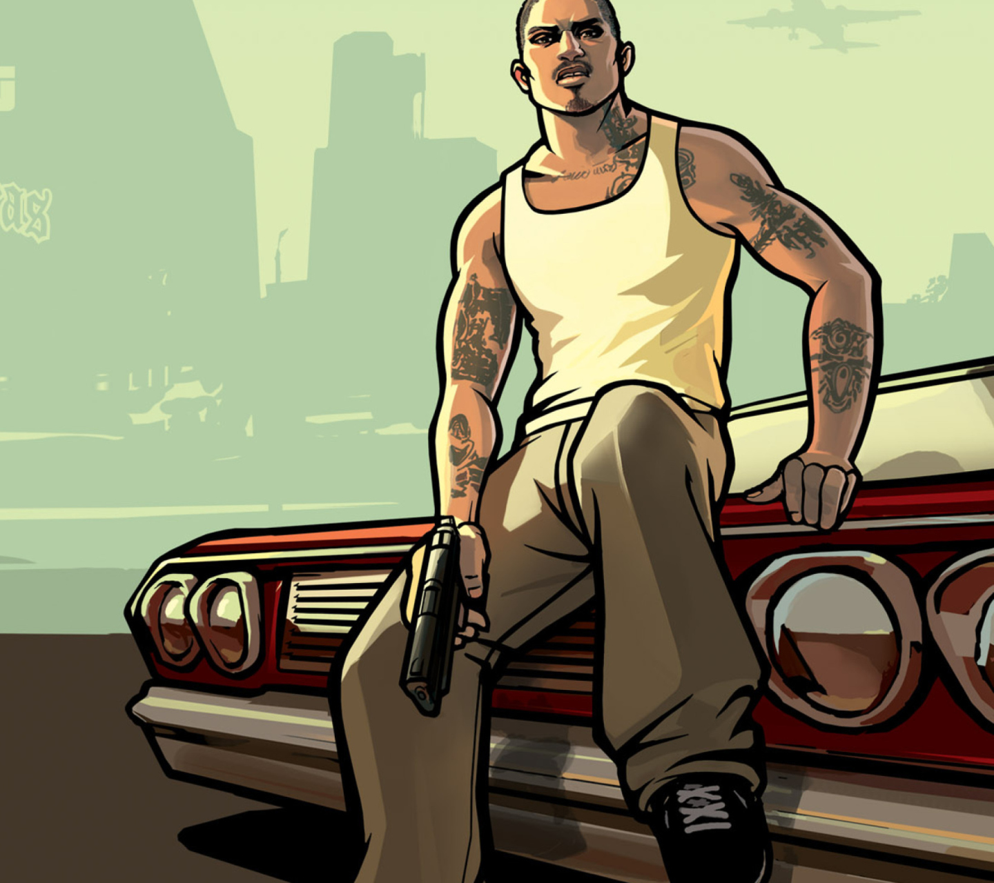 Gta San Andreas wallpaper 1440x1280
