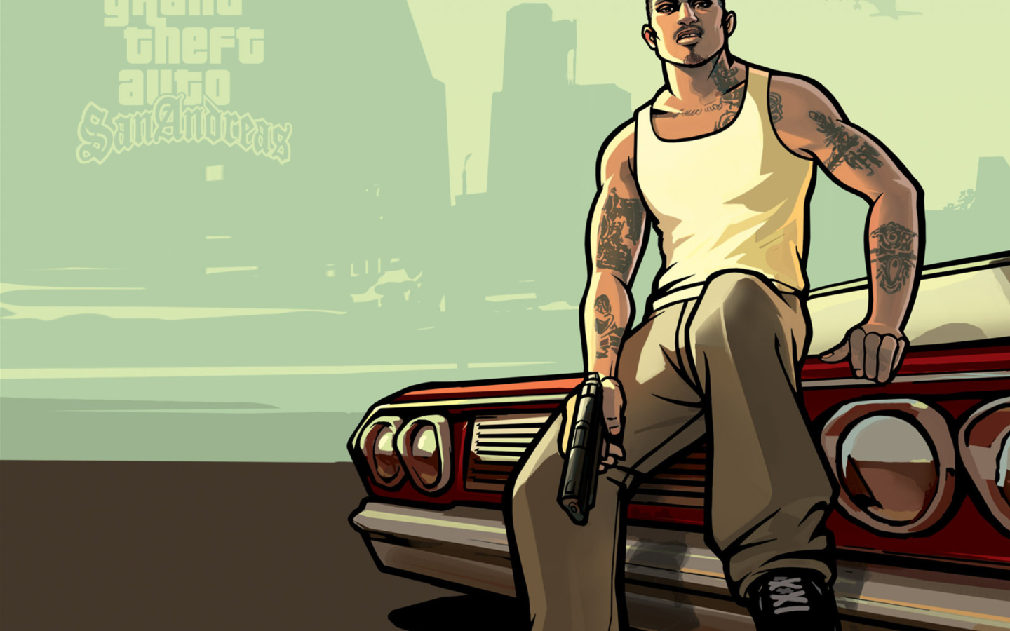 Gta San Andreas wallpaper 1440x900