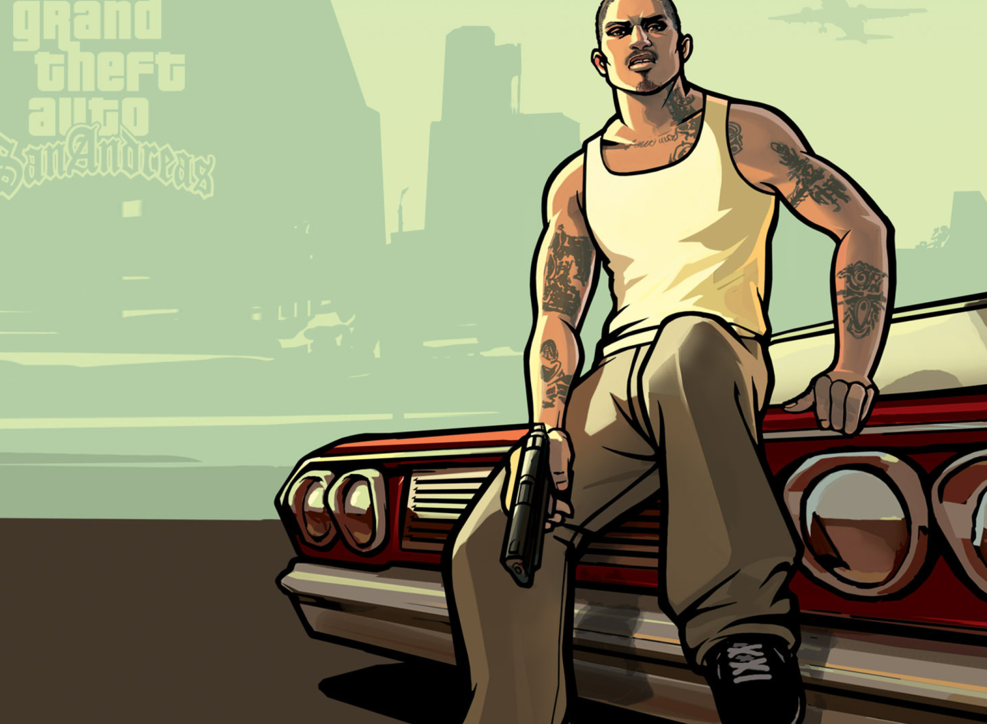 Gta San Andreas wallpaper 1920x1408