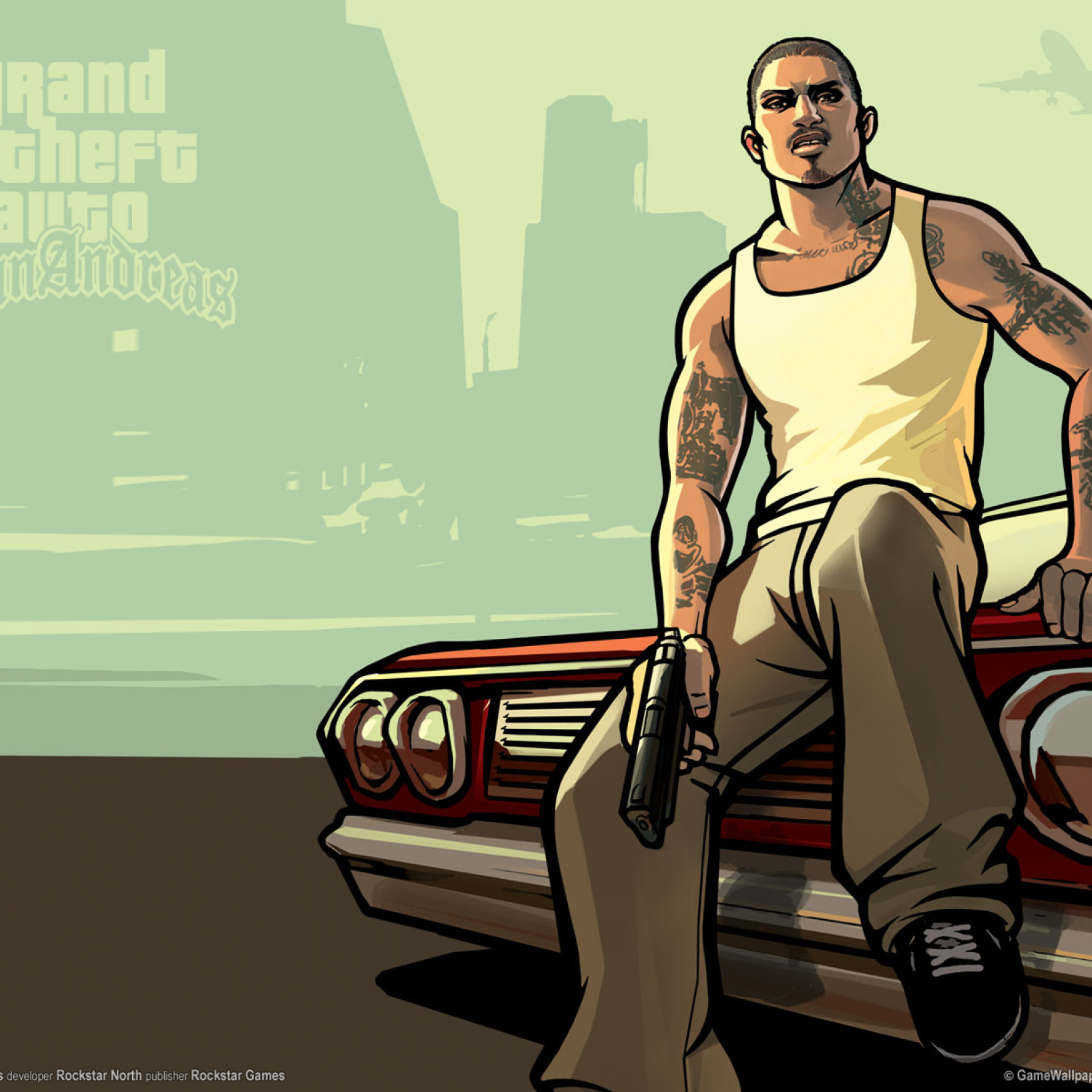 Gta San Andreas wallpaper 2048x2048